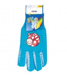 Dětské pracovní rukavice Stocker - modré - pomůcky k pěstování - 1 pár
